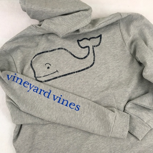 Vineyard Vines Hoodie Basic Full Zip Heather Gray Size XL NWT